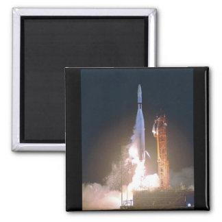 Mariner I 1 rocket into space toward Venus NASA Square Magnet