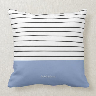 MARINERASBLUE THROW PILLOW