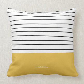 MARINERASYELLOW THROW PILLOW