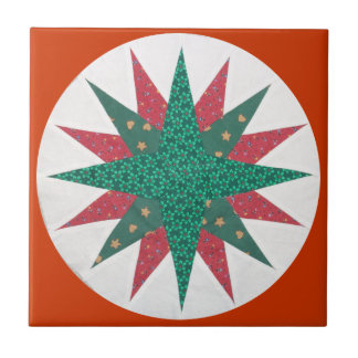 Mariner's Compass Quilt Tile