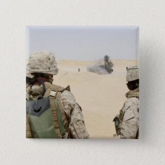 Marines and sailors 15 cm square badge