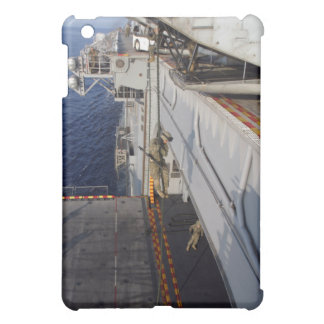 Marines and sailors fast-rope cover for the iPad mini