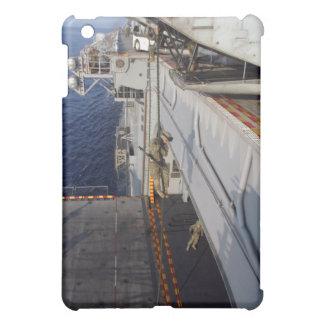 Marines and sailors fast-rope iPad mini cases