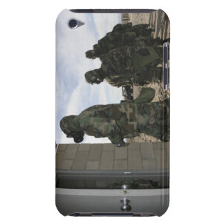 Marines and Sailors file into the gas chamber iPod Touch Cover