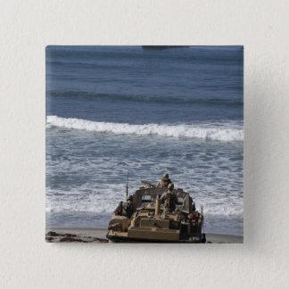 Marines anticipate the arrival 15 cm square badge