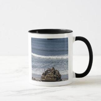 Marines anticipate the arrival mug