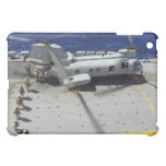 Marines board a CH-46E Sea Knight helicopter iPad Mini Covers