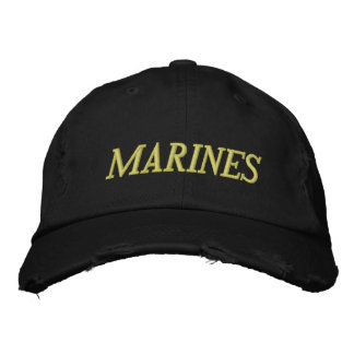 MARINES EMBROIDERED CAP
