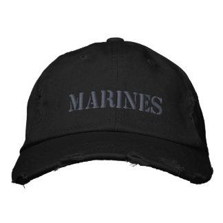 MARINES EMBROIDERED BASEBALL CAPS