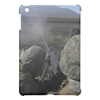 Marines fire an M2 50 caliber machine gun Cover For The iPad Mini