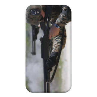 Marines firing shotguns iPhone 4 covers