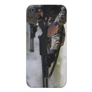 Marines firing shotguns iPhone 5/5S cases