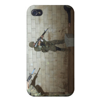 Marines hold an SASO instructor down Case For The iPhone 4