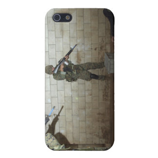 Marines hold an SASO instructor down iPhone 5 Covers
