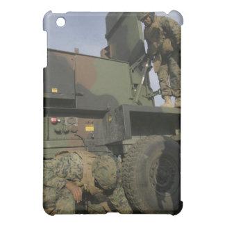 Marines prepare the antenna of an AN/TPQ-46A iPad Mini Covers
