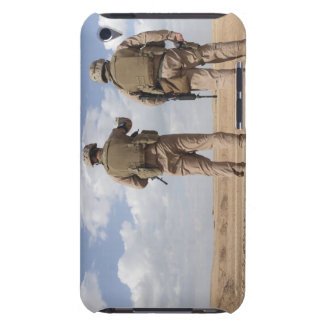 Marines scan the horizon for insurgent activity iPod touch Case-Mate case