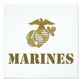 Marines [stencil] card
