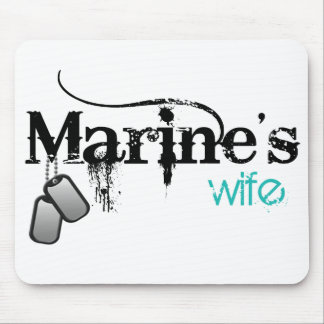 Marine's Wife Mouse Pad