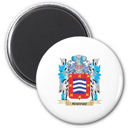 Marinic Coat of Arms - Family Crest Fridge Magnets