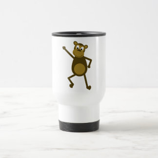 Mario the Dancing Monkey Travel Mug