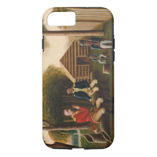 Marion Feasting the British Officer iPhone 7 Case