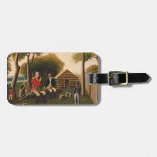 Marion Feasting the British Officer Luggage Tag