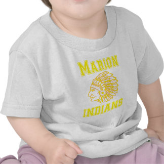 Marion Indians Yellow copy Tshirt
