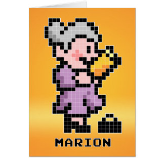 Marion the Librarian Card