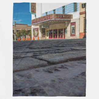 Marion Theatre Fleece Blanket