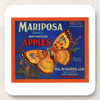 Mariposa Apples Beverage Coasters