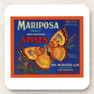 Mariposa Apples Coaster
