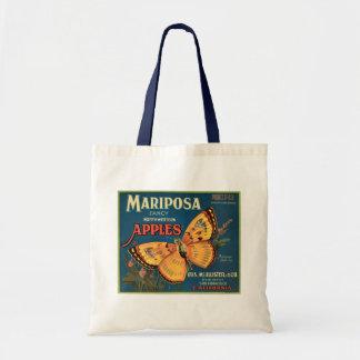 Mariposa Apples Crate Label Budget Tote Bag
