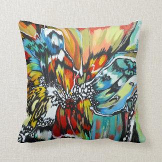 Mariposa square cushion