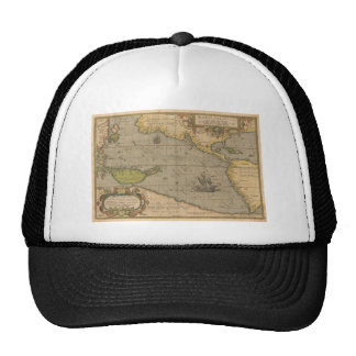 Maris Pacifici by Abraham Ortelius 1589 Trucker Hats