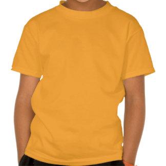 marisaL-camo013 ORANGE TAN BEIGE CAMOUFLAGE PATTER T Shirts