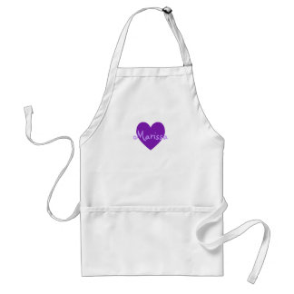 Marissa in Purple Standard Apron