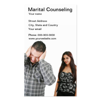 Marital Counseling business card