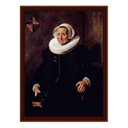 Maritge Voogt Claesdr. (1577-1644). Postcard