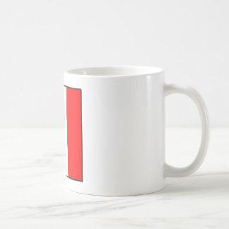maritime alphabet signal flag number seven letter coffee mug