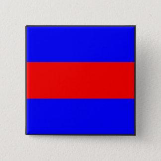 maritime alphabet signal flag number three letter 15 cm square badge