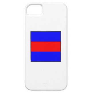 maritime alphabet signal flag number three letter iPhone 5 cover