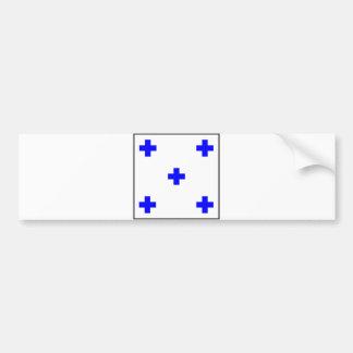maritime alphabet signal flag number zero letter 0 bumper sticker