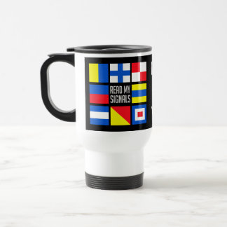 Maritime custom monogram mugs