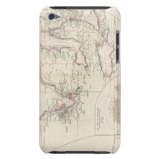 Maritime Portion of South Australia iPod Touch Case-Mate Case
