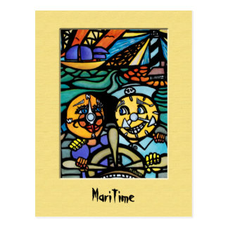 MaRiTiMe  Postcard