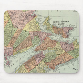 Maritime Provinces of Canada Mouse Mat