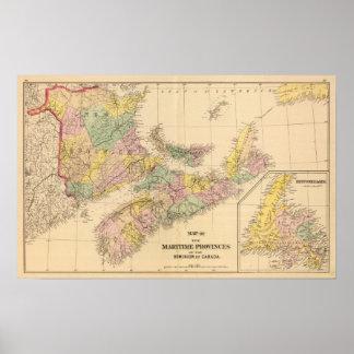 Maritime Provinces Poster
