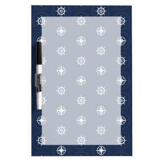 Maritime Tool Pattern Dry Erase Boards