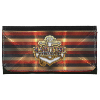 MARITIME XPRESSIONZ LEATHER WALLET FOR WOMEN