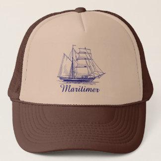 Maritimer  nautical sailing hat Nova Scotia